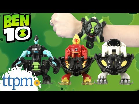 Ben 10 Omni-Launch Battle Figures From Playmates Toys