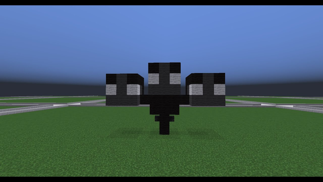 Minecraft Wither Statue