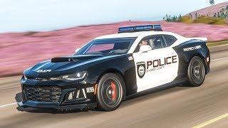 รถตำรวจพันธุ์ดุ Forza Horizon 4