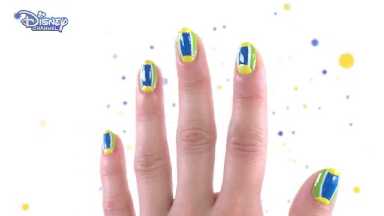 Teen beach 2 nail art official disney channel uk hd youtube prinsesfo Images