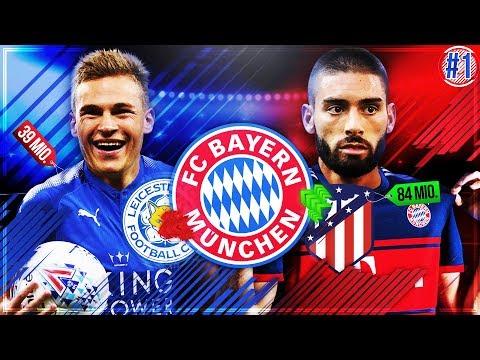 Der START!! 🔥🔥 Neuer REKORDTRANSFER 💸 & KIMMICH zu LEICESTER!?? 😱 - FIFA 18 FC Bayern Karriere #1