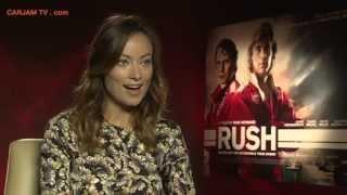 Olivia Wilde Hot Interview RUSH Movie Trailer 2013 Carjam TV HD