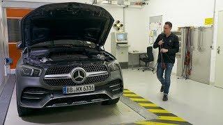Mercedes-Benz Emission Tests on Dynamometers – WLTP Certification