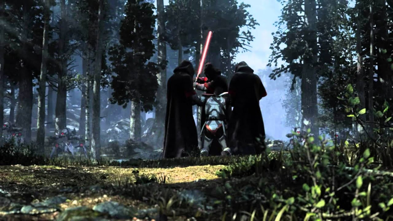Darth Vader Wallpaper Hd Star Wars The Old Republic Quot Hope Quot Cinematic Trailer