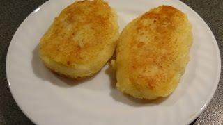 Картофельные зразы с фаршем.