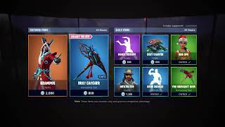 23.11.18 * NEU* Krampus Haut Fortnite Battle Royale Item Shop