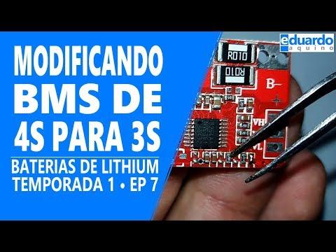 Baterias de Lithium - Modificando a BMS e Entendendo a Ligação das Células - Faça Você Mesmo