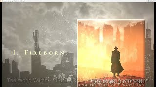 The World Within - Fireborn [Lyric Video 2019 | Symphonic/Melodic Death Metal]