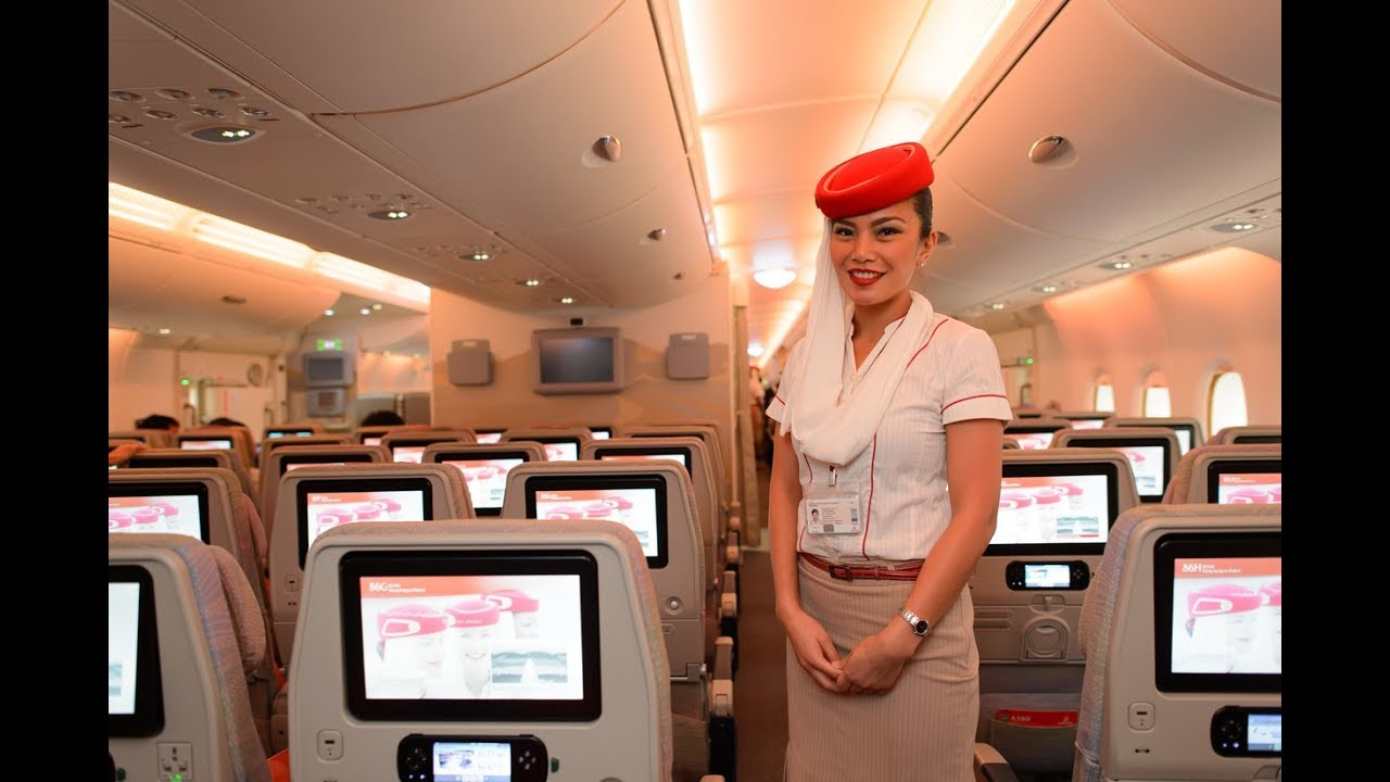 Benefits & Salary of Emirates Airlines Cabin Crew