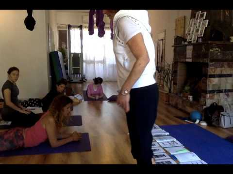 Pilates Teacher Training Jerusalem - Classical Mat exercises Part 3