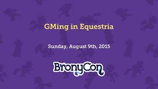 GMing in Equestria!