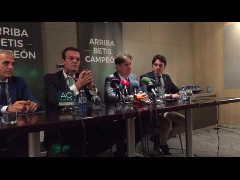 Alfonso, el fichaje del entrenador del Betis y el gusto por Quique Setién