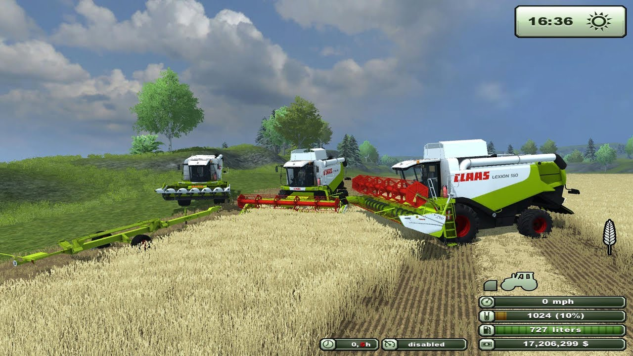 Ls 2013 Farming Simulator Farming Simulator 2013 Mod Review Claas Lexion 550 V 3