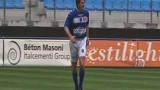 François Baroin, félicite l'ESTAC (Foot)