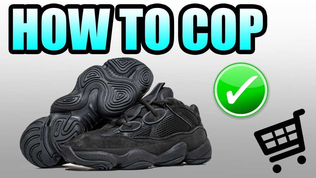 fcfd12231797b How To Get The UTILITY BLACK YEEZY 500 !