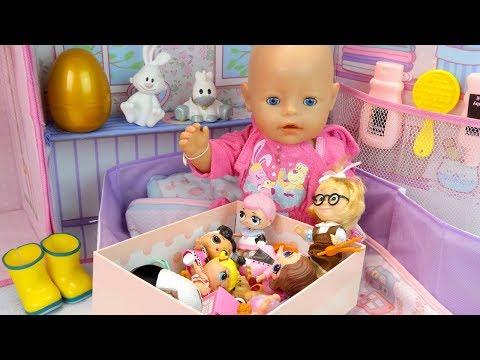 Куклы Пупсики Новый Домик для #Бебибон Игрушки Маша и Медведь, ЛОЛ Мультик для девочек