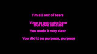 Tinie Tempah Ft. Ester Dean - Love Suicide[LYRICS] [HQ]