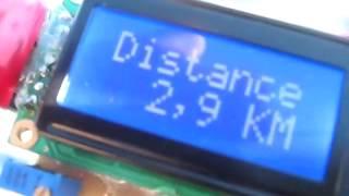 Самодельный спидометр для велосипеда PIC16F628A - тест, 1 часть(В этом видео я показываю работу своего самодельного спидометра для велосипеда на PIC16F628A с часами на DS1307., 2014-03-12T18:07:03.000Z)