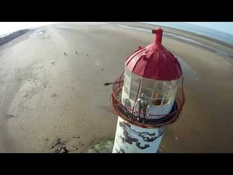Talacre Beach Lighthouse and its ghost