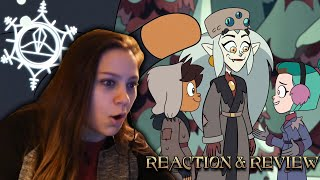 The Owl House Adventures in the Elements Reaction and Review