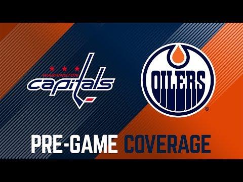 ARCHIVE   Oilers Pre-Game Interviews vs. Washington