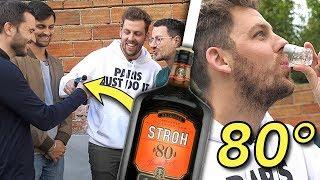 Tu perds, tu bois les alcools les plus forts du monde