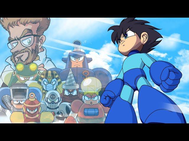 Mega Man 4 Opening [Remake] [Animation]