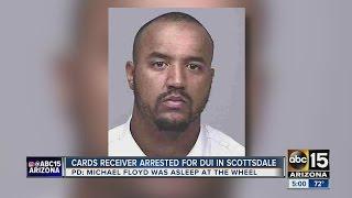 Scottsdale police stop, arrest Michael Floyd