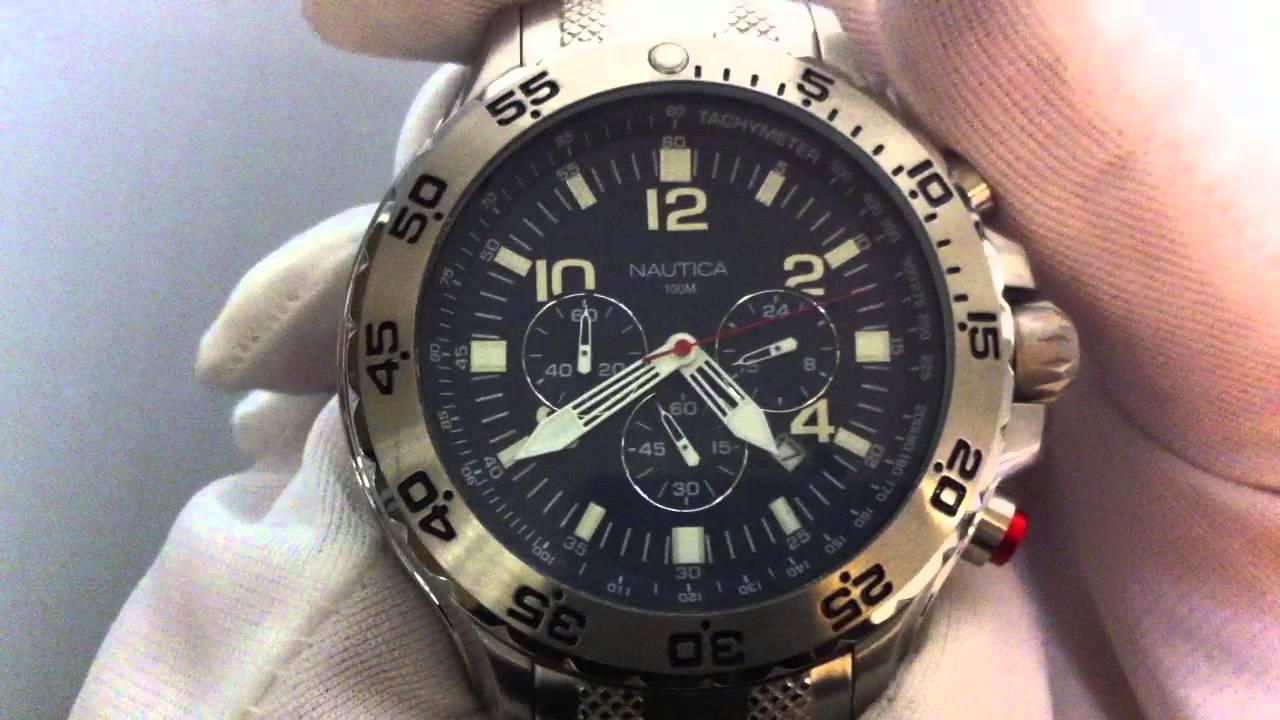 men s nautica nst chronograph watch n19509g men s nautica nst chronograph watch n19509g