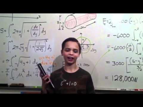 11 year old math genius - YouTube