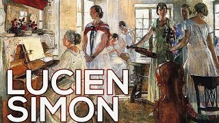 Lucien Simon: A collection of 44 paintings (HD)