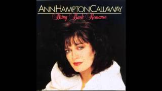 Ann Hampton Callaway / A Quiet Thing