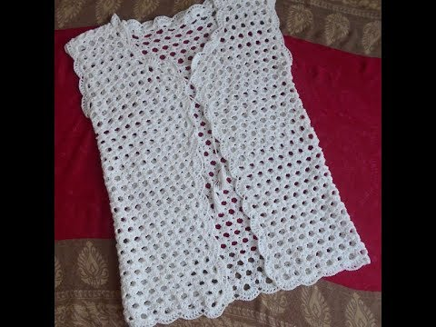 Crochet Ladies Sweater In English Youtube