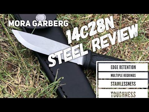Mora Garberg 14c28n Steel Review and Full Edge Testing