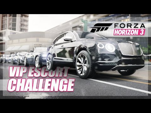Make Forza Horizon 3 - VIP Escort Challenge! (Best Chauffeur Race) Pictures