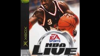 Nba Live 2002 xbox  - Miami Heat vs New Jersey Nets