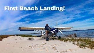 Just Aircraft Highlander Beach Landing!