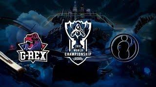 Video 【2018全球總決賽】小組賽 第八天 GRX vs IG download MP3, 3GP, MP4, WEBM, AVI, FLV Oktober 2018