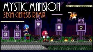 Sonic Heroes - Mystic Mansion (Sega Genesis Extended Remix)