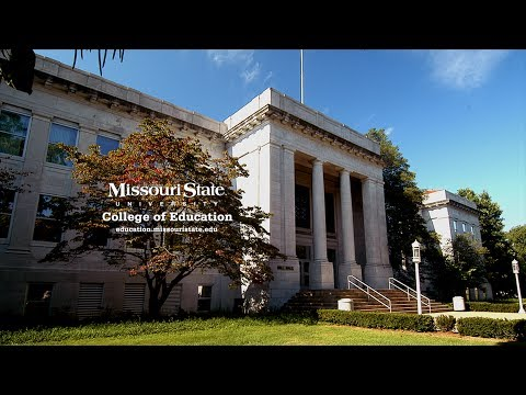 Welcome to the College of Education at Missouri State University in Springfield Missouri