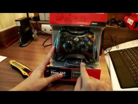 วิธีใช้จอย Xbox 360 Wireless + Receiver by Joystickthai