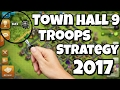 Best townhall 9 Troop Strategy To Push to Legends