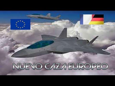 FUTURO AVIÓN DE COMBATE EUROPEO DE 5º GENERACIÓN - FCAS (en español)