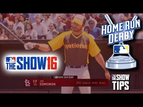 MLB The Show 16  - LEGENDS HR Derby Edmonds vs. Stargell (Crosley Field)