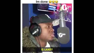 Roadman Shaq cant spell island records (FUNNY)