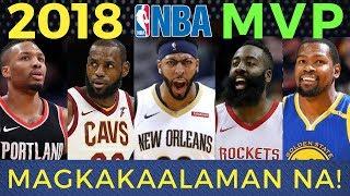 Harden Lebron Davis: Sino ang 2018 NBA MVP?