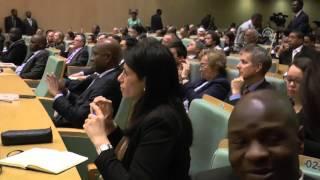 EU foreign policy chief Federica Mogherini in Ethiopia