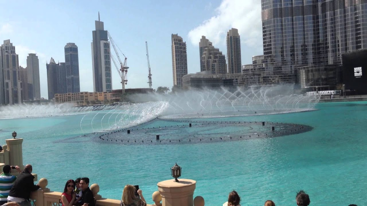 Image result for Burj Dubai lake fountain