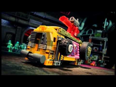 Lego Teenage Mutant Ninja Turtles - Лего Черепашки Ниндзя!