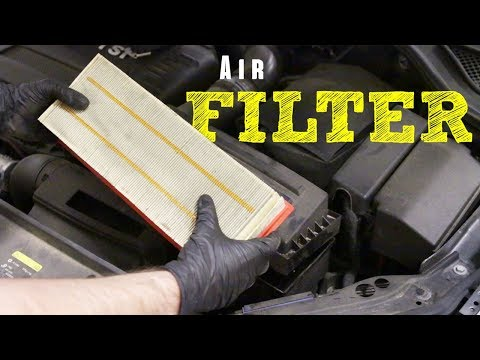 How to Install an Engine Air Filter on a VW 1.8t